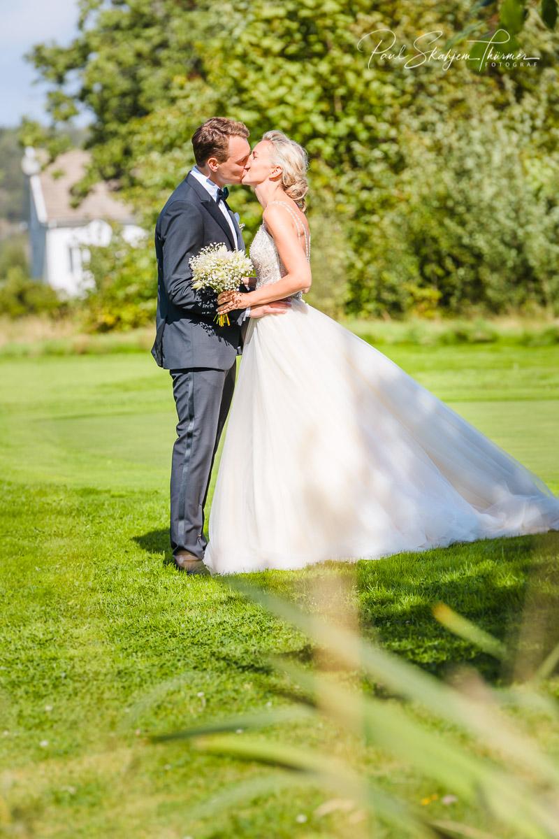 Kjersti og Luc sitt bryllup på Veierland 12