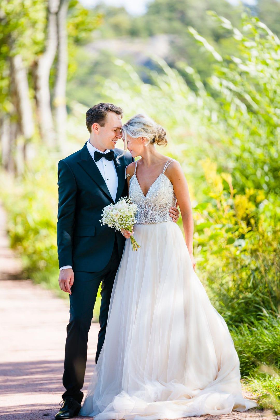 Kjersti og Luc sitt bryllup på Veierland 11