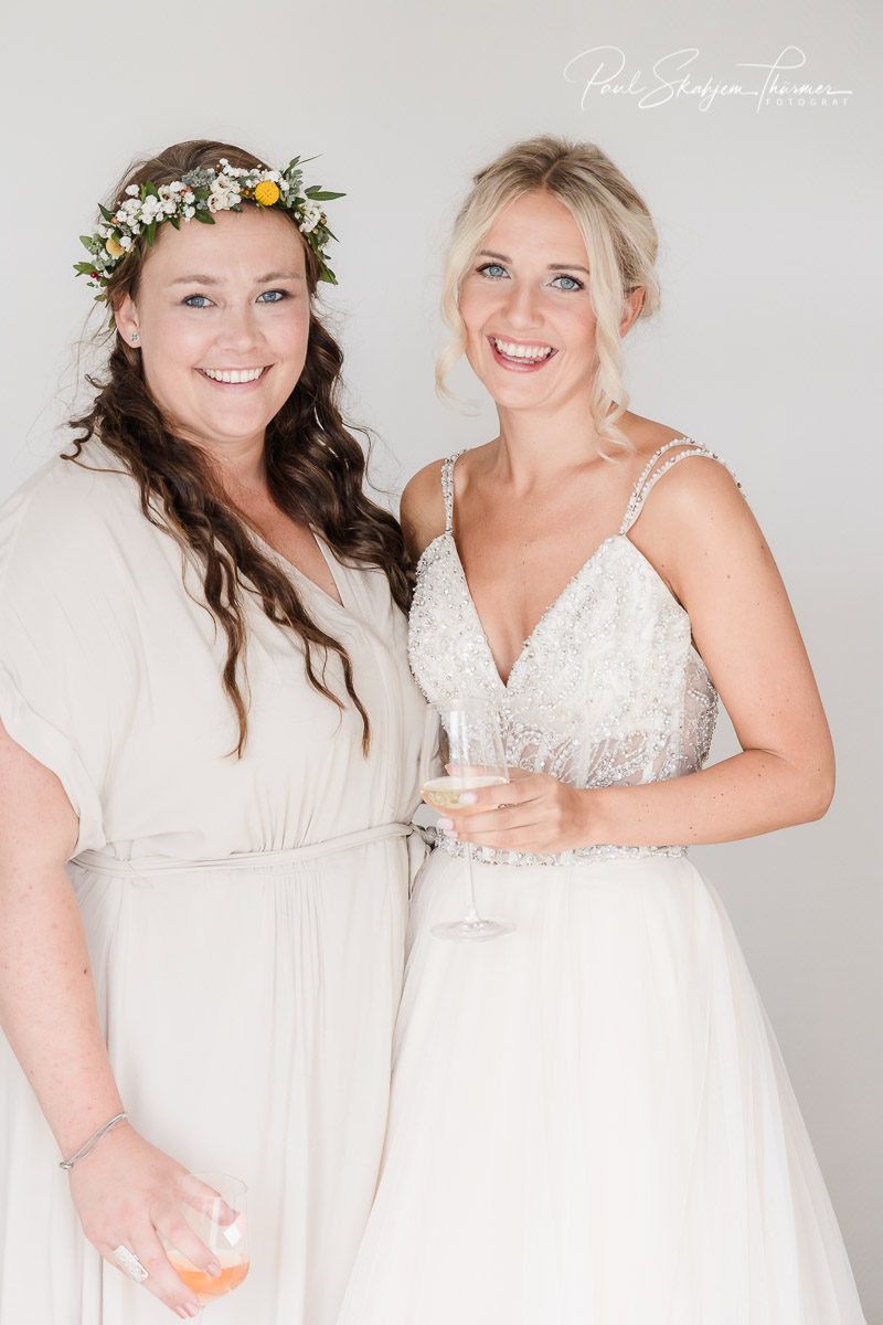 Kjersti og Luc sitt bryllup på Veierland 1