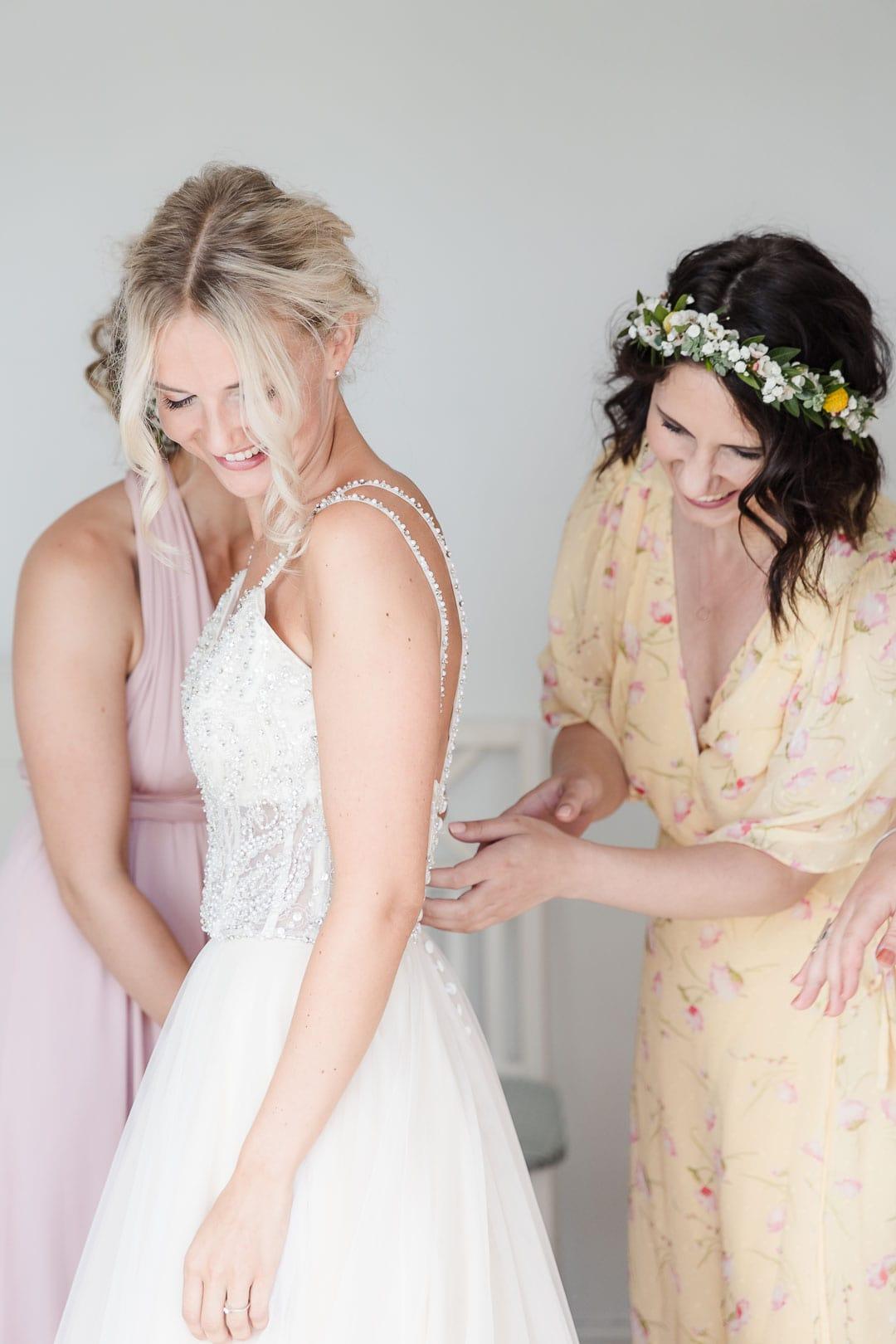 Kjersti og Luc sitt bryllup på Veierland 3