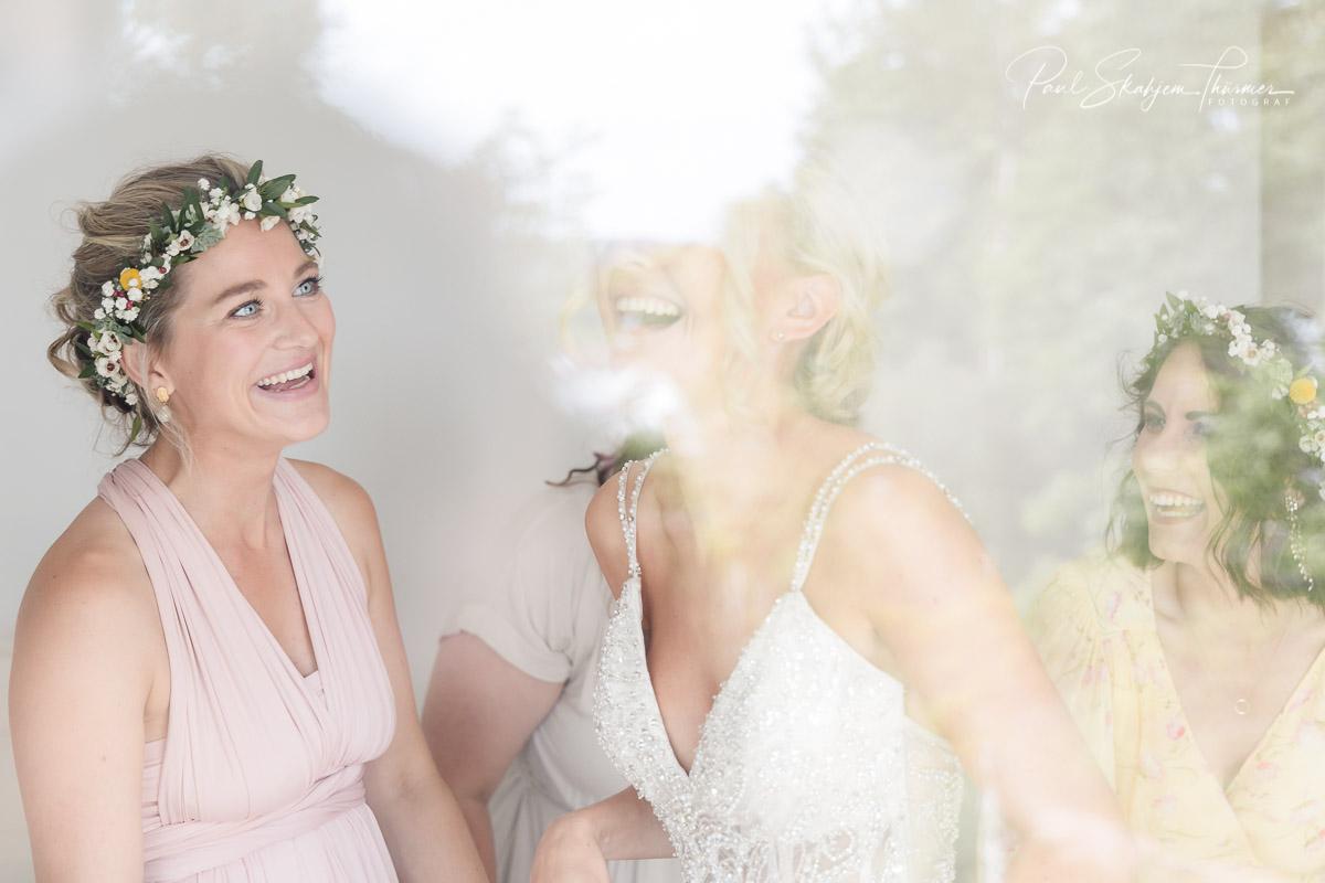 Kjersti og Luc sitt bryllup på Veierland 4