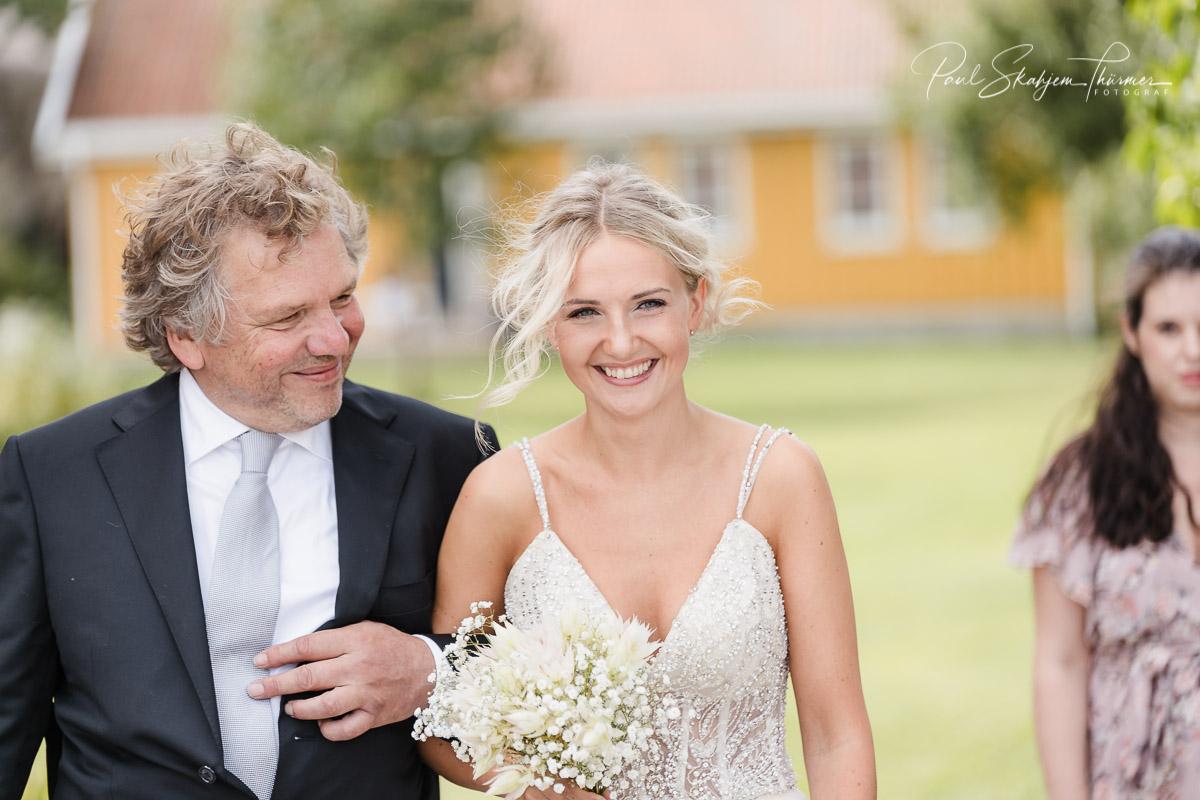 Kjersti og Luc sitt bryllup på Veierland 7
