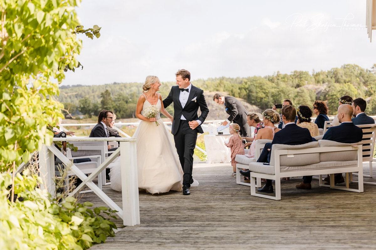 Kjersti og Luc sitt bryllup på Veierland 10