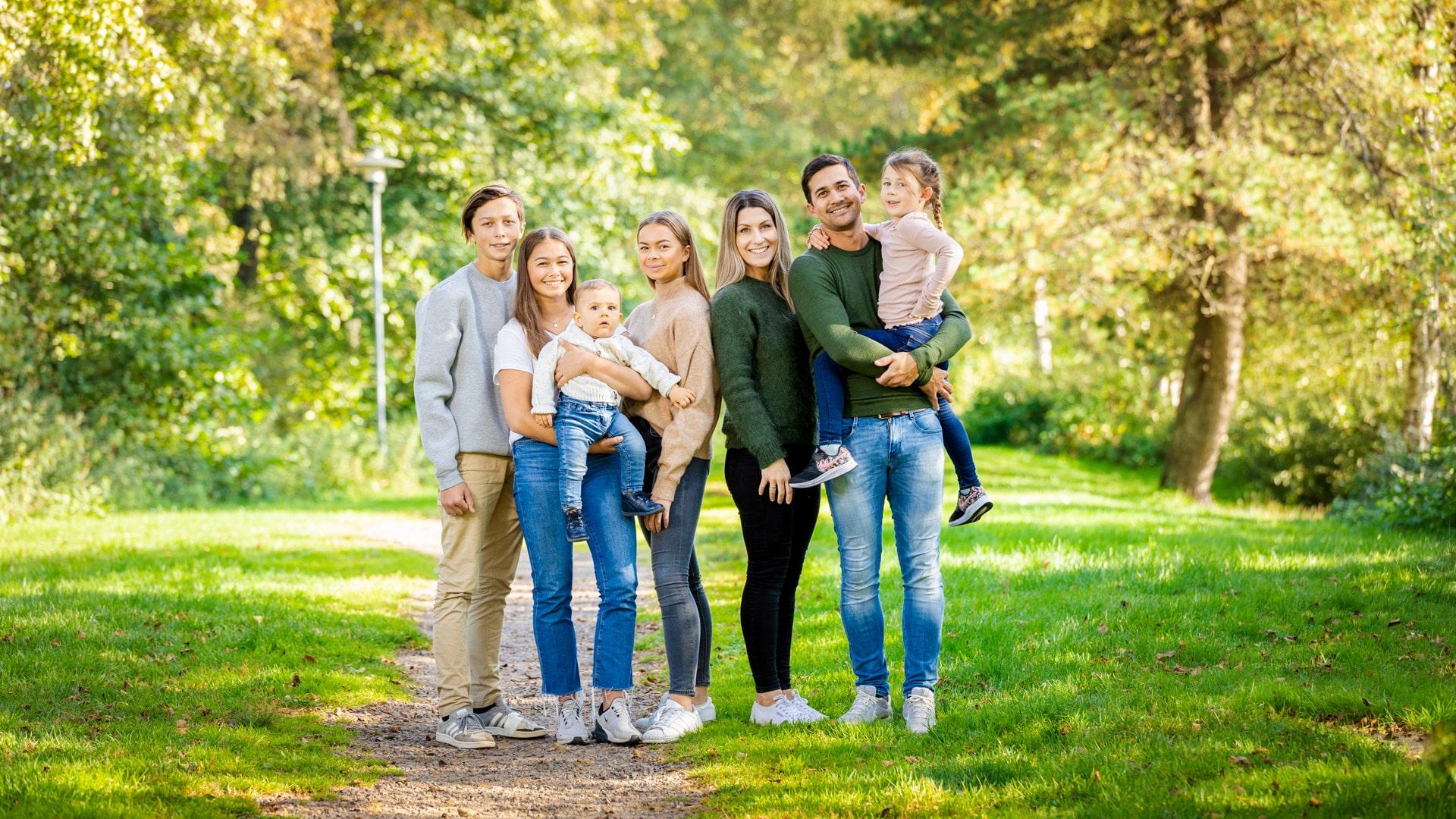 Familie fotografering.