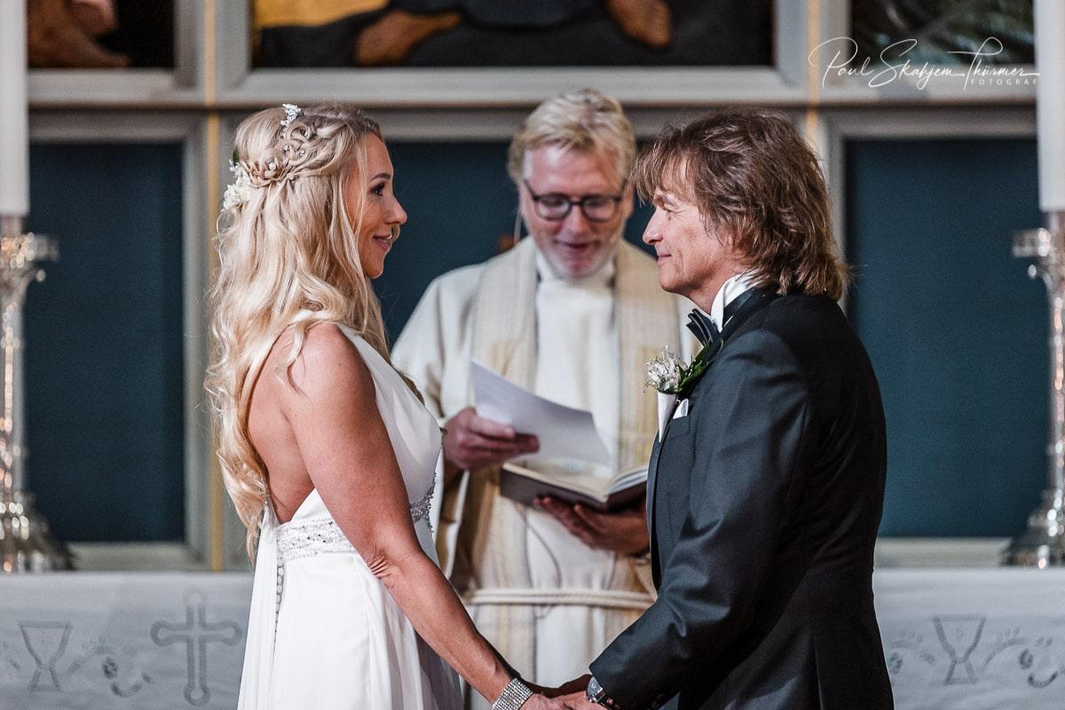 Hilde & Leif Giftet seg i Sandefjord Kirke 1 August 20