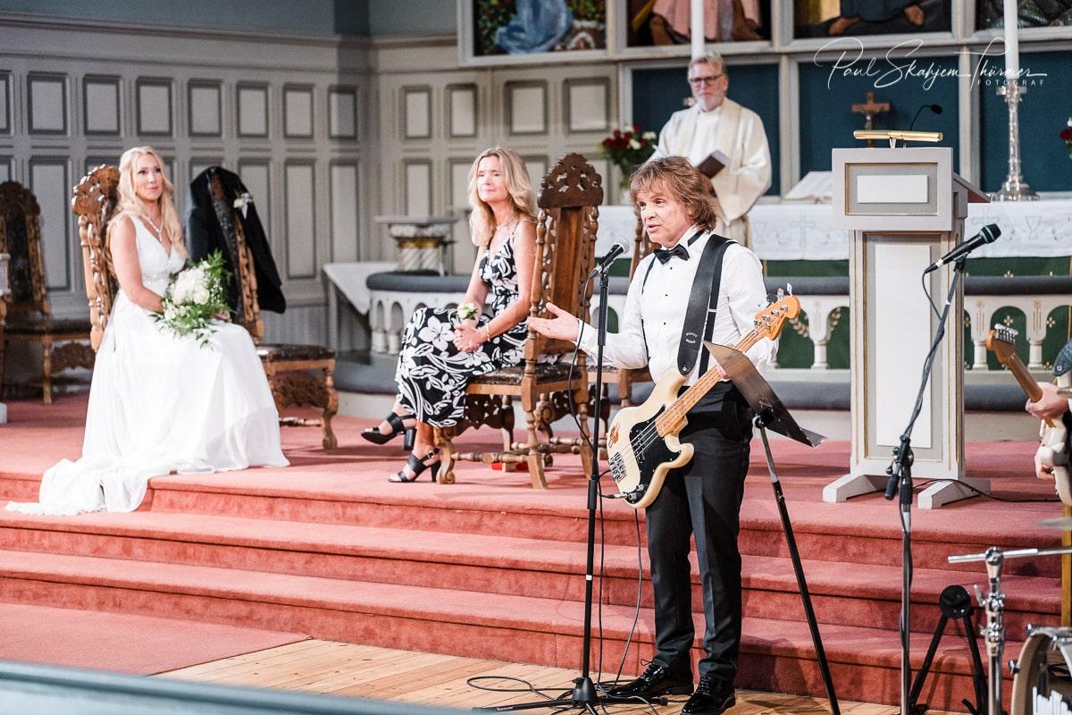 Hilde & Leif Giftet seg i Sandefjord Kirke 1 August 8