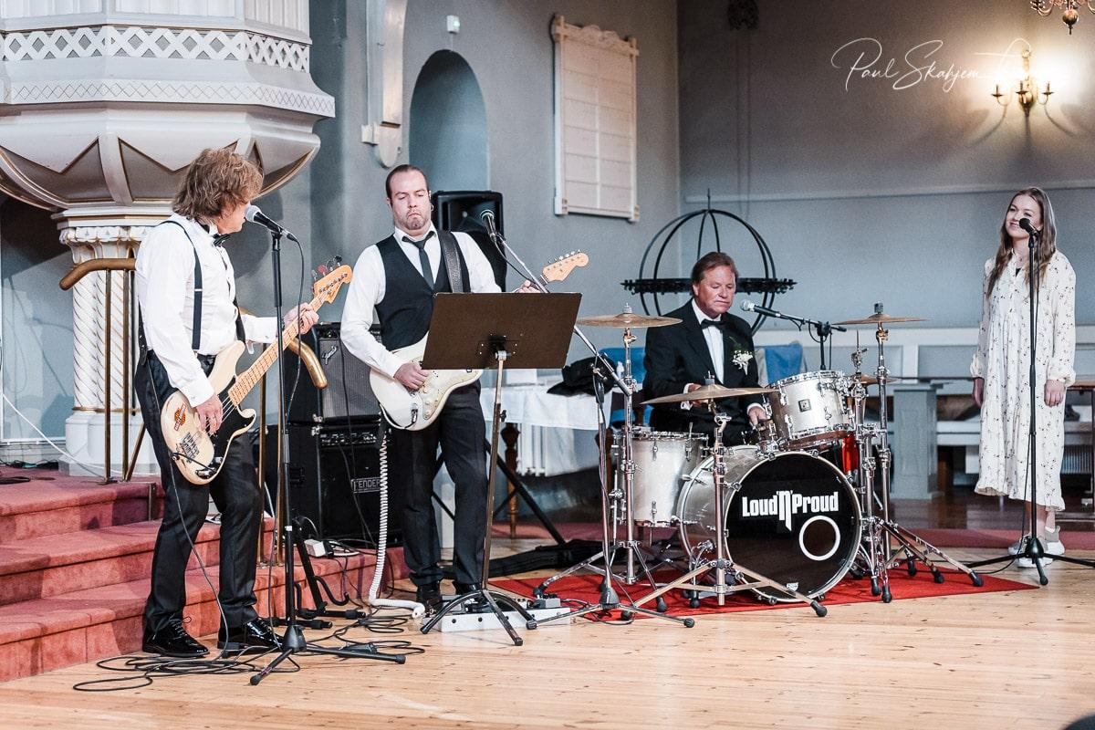 Hilde & Leif Giftet seg i Sandefjord Kirke 1 August 7