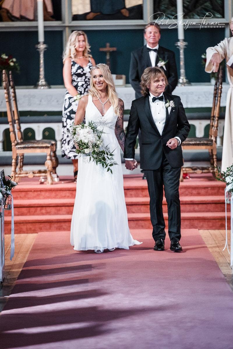 Hilde & Leif Giftet seg i Sandefjord Kirke 1 August 6