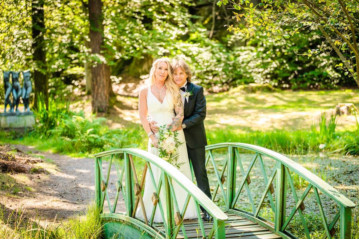 Hilde & Leif Giftet seg i Sandefjord Kirke 1 August 1