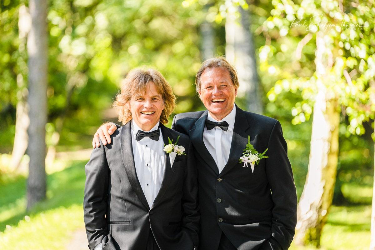 Hilde & Leif Giftet seg i Sandefjord Kirke 1 August 2