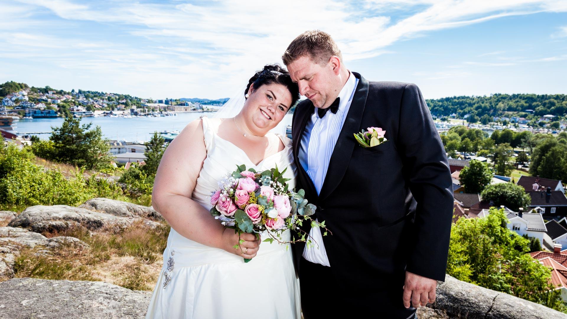 Bryllupsfotograf Sandefjord